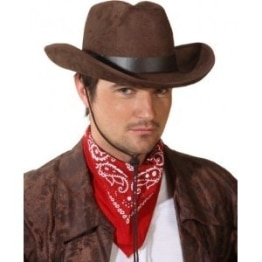 """Hut: Cowboyhut """"John"""", braun, KW 59 - 1"""