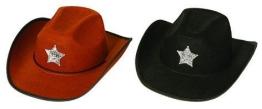 Hut: Cowboyhut, mit Sheriffstern - 1
