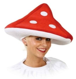 Hut: Pilz-Hut, Fliegenpilz, 40 cm Durchmesser, Einheitsgröße - 1