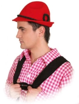 Hut: Seppel-Hut, rot, Kopfweite 59 - 1