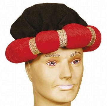 Hut: Turban, rot - 1
