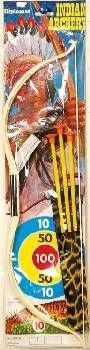 Indianer-Kostüm: Set mit Pfeil und Bogen sowie Messer - 1