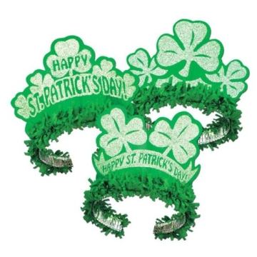 Irland Kopfschmuck Glitzerkrönchen - 1