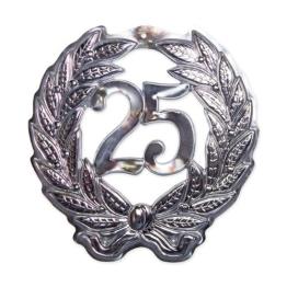 Jubiläumszahl 25, 40 cm Durchmesser - 1