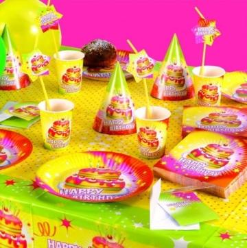 """Kerzen: Mini-Figuren-Kerzen, """"Happy Birthday"""", 8 Stück - 2"""