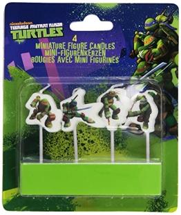 """Kerzen: Mini-Figuren-Kerzen, Motiv """"Teenage Mutant Ninja Turtles"""" - 1"""