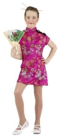 Kleid : Chinesin pink - 1