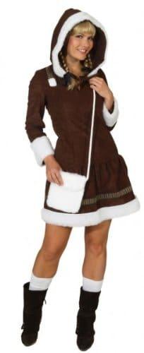 Kleid Eskimo Girl braun - 1
