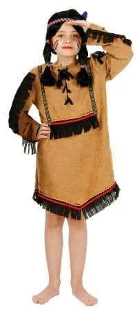 Kleid : Indianerin Comanche - 1