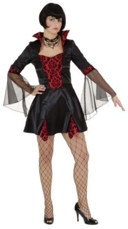 Kleid Sexy Vampirlady - 1