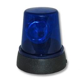 kleine Rundumleuchte blau, Blaulicht Lampe Rundumlicht - 1