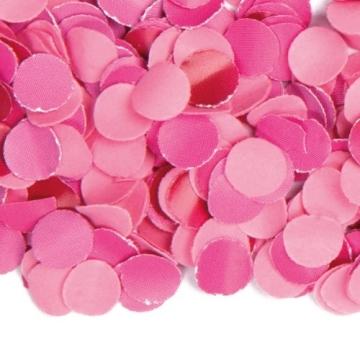 Konfetti: Papier-Konfetti, rosa, schwer entflammbar, 1 kg - 1