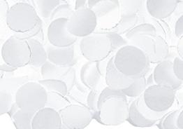 Konfetti: Papier-Konfetti, weiß, schwer entflammbar, 1 kg - 1