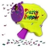 Konfetti-Pistole Party Popper, Konfettipistole Papierkonfetti - 1
