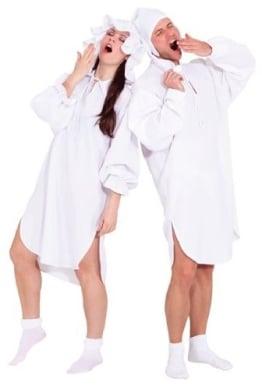 Kostüm: Schlafwandlerin, Hemd und Mütze - 1