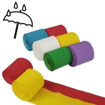 Kreppband, Regenbogenfarben, 6er-Pack - 1