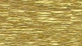 Krepppapier, gold, 50 cm x 250 cm - 1