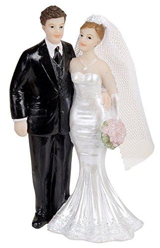 Kuchendeko Brautpaar 110mm Hochzeitstorte Dekoration Party Deko