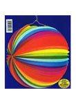 Lampion, 25 cm, Regenbogenfarben - 1