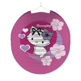 Lampion, Charmmy-Kitty-Motiv, 25 cm Länge - 1