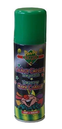 Leuchtcolor Haarspray grün - 1