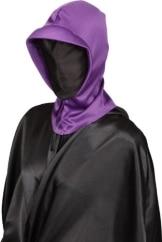 lila Halloween Maske - 1