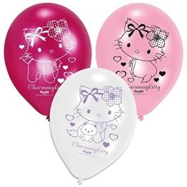 """Luftballon: Luftballons """"Charmmy Kitty Hearts"""", 6er-Pack - 1"""