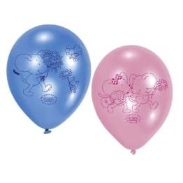 "Luftballon: Luftballons ""Lillebi Flowers"", 6er-Pack - 1"
