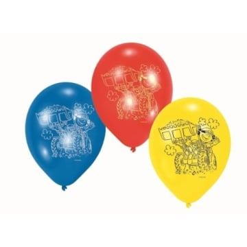 "Luftballon: Luftballons ""Little Workers"", 6er-Pack - 1"