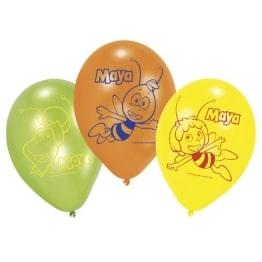 """Luftballon: Luftballons, Motiv """"Biene Maja"""", verschiedene Farben, 70 cm Umfang, 6 Stück - 1"""