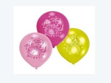 """Luftballon: Luftballons """"Sweet Little Princess"""", 6er-Pack - 1"""