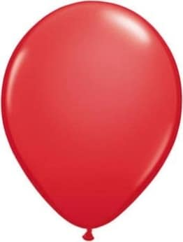 Luftballon, STANDARD, 75 bis 85 cm Umfang, verschiedene Farben, 50er-Pack - 1