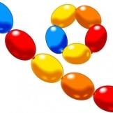 Luftballons: 8 Kettenballons - 1