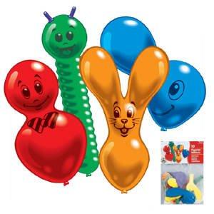 Luftballons: Figurenballons, gemischte Motive, 10 Stück - 1