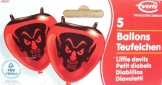 Luftballons: Figurenballons, Teufel, 5 Stück - 1