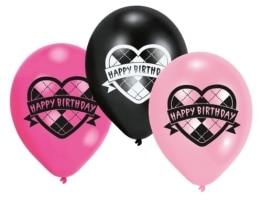 Luftballons, Monster High, verschiedene Farben, 6er-Pack - 1