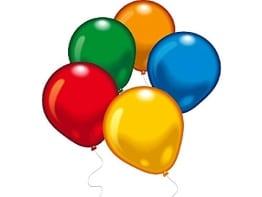 Luftballons: Partyluftballons, 20 Stück, bunt gemischt, 65 – 75 cm - 1