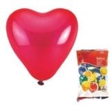 Luftballons, rote Herzen, 25 Stück - 1
