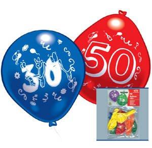 Luftballons zahlen ballon zum 70 geburtstag 10er pack - Deko zum 70 geburtstag ...