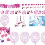 """Luftballons zur Geburt: rosa, Schriftzug """"It's A Girl"""", 10er-Pack - 1"""