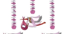 """Luftballons zur Geburt: rosa, Schriftzug """"It's A Girl"""", 10er-Pack - 2"""