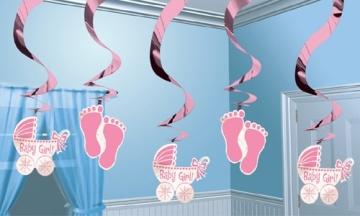 """Luftballons zur Geburt: rosa, Schriftzug """"It's A Girl"""", 10er-Pack - 3"""