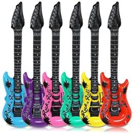 Luftgitarre, aufblasbar, 100 cm, farblich sortiert - 1
