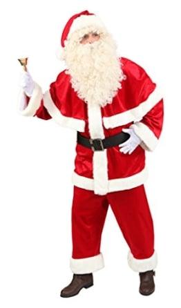 Luxus-Verkleidung: Weihnachtsmannanzug - 1