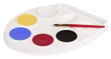 Make-up: Schmink-Palette, Aqua-Farben - 1
