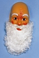 Maske: Nikolaus mit Bart - 1