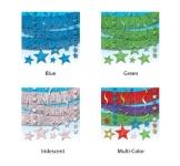 Mega-Deko-Set, glitzernd, mit Girlanden, Sternen, Deckenhängern, Rotorspiralen, 22-teilig - 1