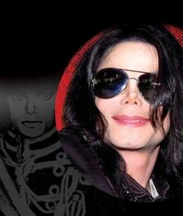 Michael Jackson Perücke und Sonnenbrille Verkleidung Kostüm - 1
