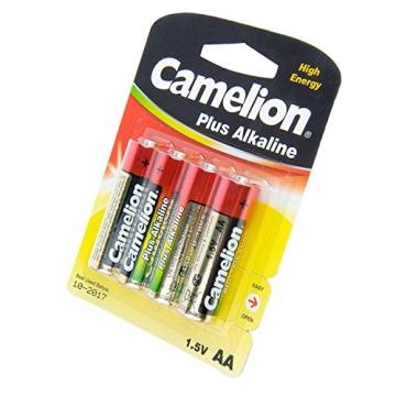 MIGNON LR06 AA, Alkali-Mangan-Batterie, 4er-Pack - 4