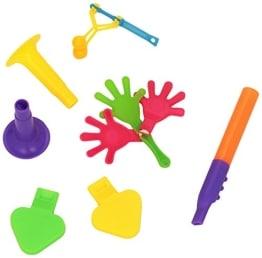 Mitbringsel: Krachmacher, Tröten, Pfeifen, 8 x 6 Stück - 1
